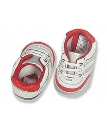 """Sneakers """"Future athlete"""" red"""